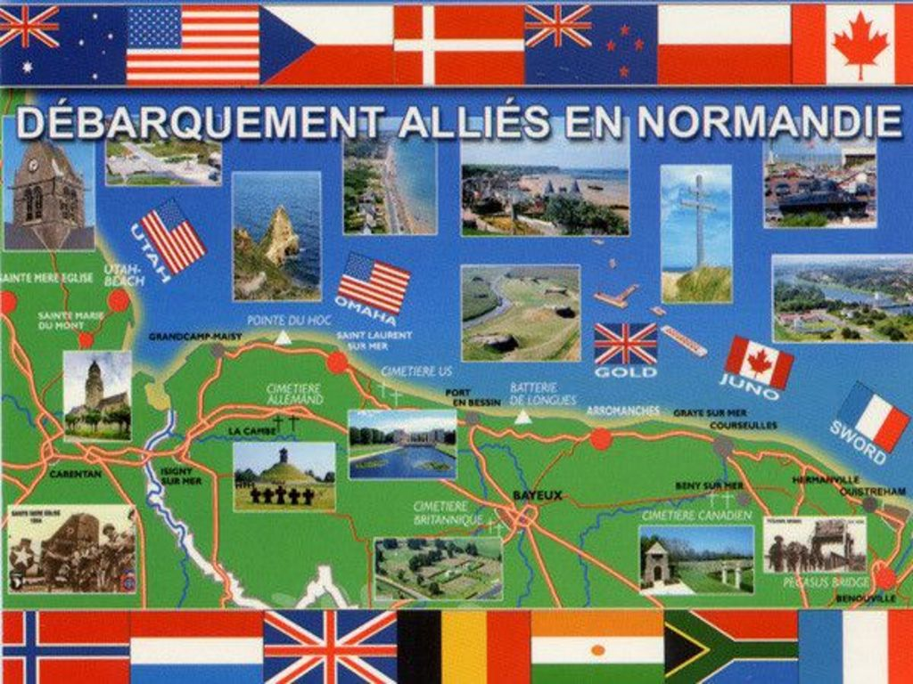 Debarquement Des Allies En Normandie 6 Juin 194